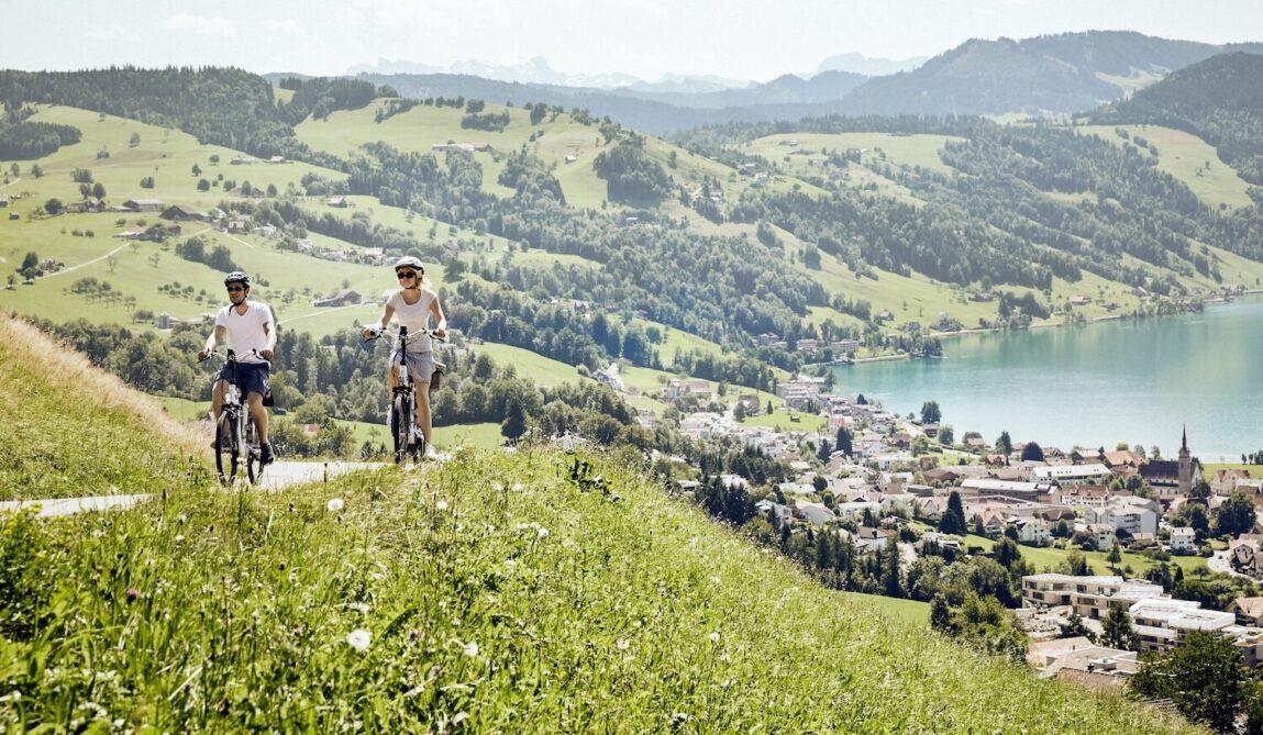 Velostrecken Schweiz